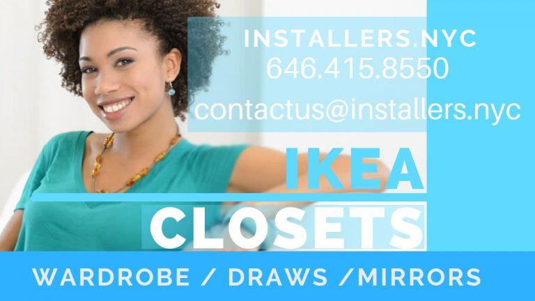 new wardrobe, closet or armoire at IKEA